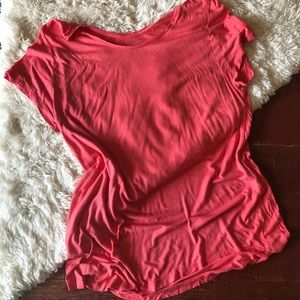 Gap | Luxe Super Soft Pink Tunic Tee